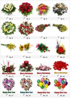 Tierhimmel Blumensträuße